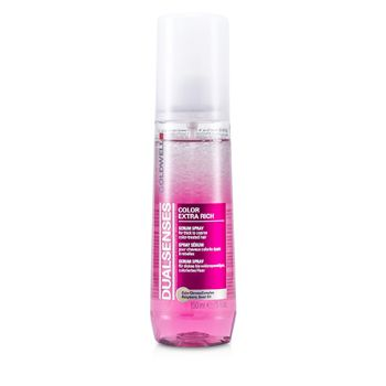 Goldwell Dual Senses Color Extra Rich Serum Spray - For Thick to Coarse Color-Treated Hair (Salon Product)