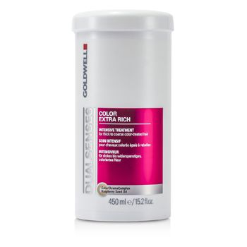 Goldwell Dual Senses Color Extra Rich Intensive Treatment - For Thick to Coarse Color-Treated Hair (Salon Product)