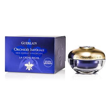 Guerlain Orchidee Imperiale Exceptional Complete Care The Rich Cream (New Gold Orchid Technology)