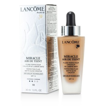 Lancome Miracle Air De Teint Perfecting Fluid SPF 15 - # 03 Beige Diaphane