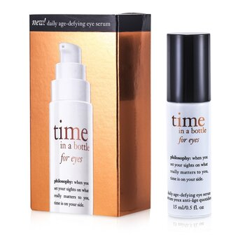 Philosophy Time In A Bottle For Eyes (Daily Age-Defying Eye Serum)