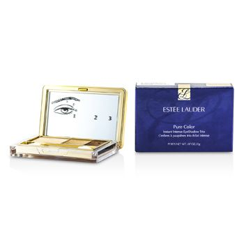 Estee Lauder Pure Color Instant Intense Eyeshadow Trio - # 05 Gilded Chocolates