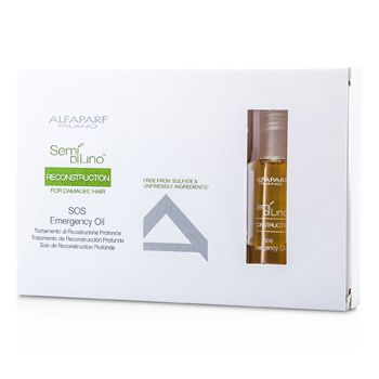 AlfaParf Semi Di Lino Reconstruction SOS Emergency Oil (For Damaged Hair)