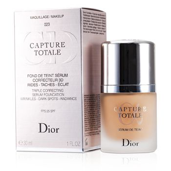 Christian Dior Capture Totale Triple Correcting Serum Foundation SPF25 - # 023 Peach