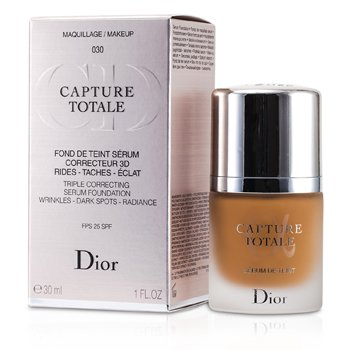 Christian Dior Capture Totale Triple Correcting Serum Foundation SPF25 - # 030 Medium Beige