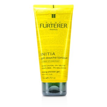 Rene Furterer Initia Toning Shower Gel - Body and Hair (Soap-Free - PH Balanced)