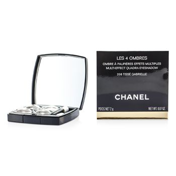 Chanel Les 4 Ombres Quadra Eye Shadow - No. 208 Tisse Garbrielle