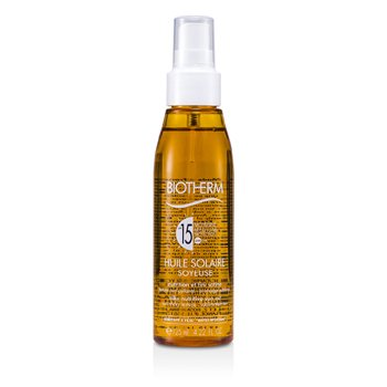 Biotherm Huile Solaire Soyeuse SPF 15 UVA/UVB Protection Sun Oil