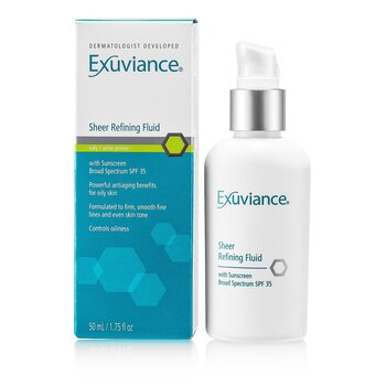 Exuviance Sheer Refining Fluid SPF 35 (For Oily/ Acne Prone Skin)