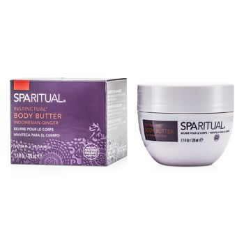 SpaRitual Instinctual Body Butter - Indonesian Ginger