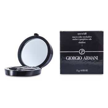 Giorgio Armani Eyes to Kill Solo Eyeshadow - # 01 Obsidian