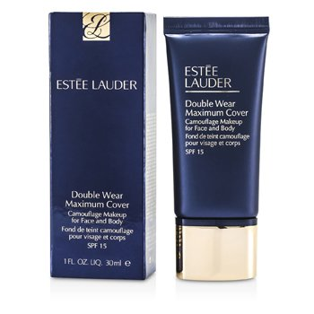 Estee Lauder Double Wear Maximum Cover Camouflage Make Up (Face & Body) SPF15 - #12 Rattan (2W2)