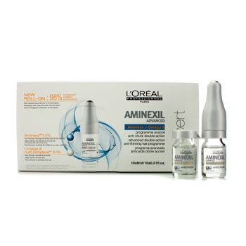 L'Oreal Professionnel Expert Serie - Aminexil Advanced Double Actioin Anti-Thinning Hair Programme