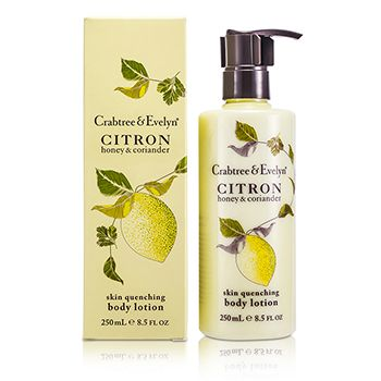 Crabtree & Evelyn Citron, Honey & Coriander Skin Quenching Body Lotion
