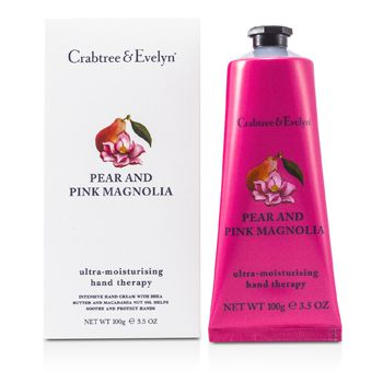 Crabtree & Evelyn Pear & Pink Magnolia Ultra-Moisturising Hand Therapy
