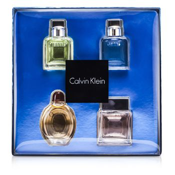 Calvin Klein Miniature Coffret: Eternity Men, Eternity Aqua Men, Obsession Men, Euphoria Men