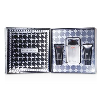 Givenchy Play Coffret: Eau De Toilette Spray 100ml/3.3oz + Shower Gel 50ml/1.7oz + After Shave Gel 50ml/1.7oz
