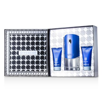 Givenchy Blue Label Coffret: Eau De Toilette Spray 100ml/3.3oz + Shower Gel 50ml/1.7oz + After Shave Balm 50ml/1.7oz