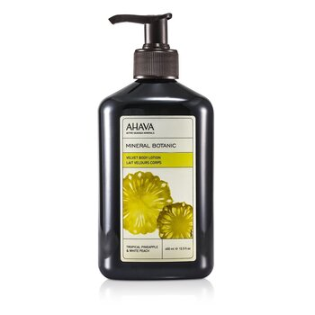 Ahava Mineral Botanic Velvet Body Lotion - Tropical Pineapple & White Peach