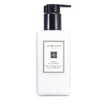 Jo Malone Amber & Lavender Body & Hand Lotion (With Pump)