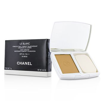 Chanel Le Blanc Light Creator Whitening Compact Foundation SPF 25 - # 30 Beige