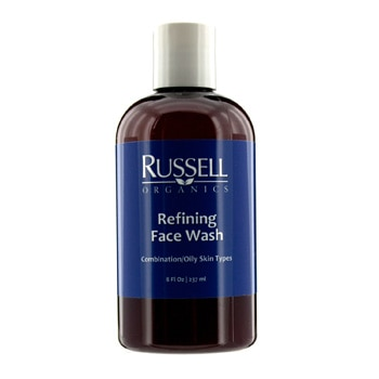 Russell Organics Refining Face Wash (For Combination / Oily Skin)