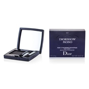 Christian Dior Diorshow Mono Wet & Dry Backstage Eyeshadow - # 087 Black