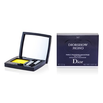 Christian Dior Diorshow Mono Wet & Dry Backstage Eyeshadow - # 547 Yellow