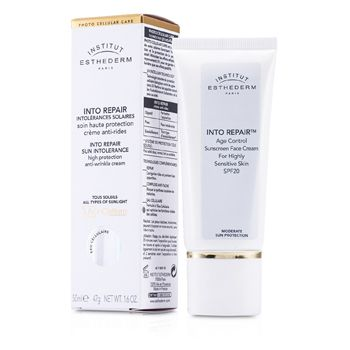 Esthederm Into Repair Sun Intolerance Sunscreen Face Cream