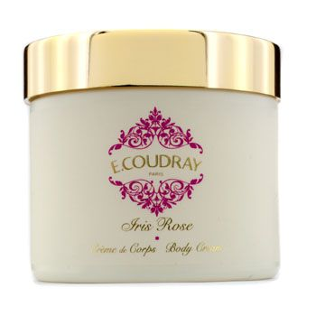 E Coudray Iris Rose Perfumed Body Cream (New Packaging)