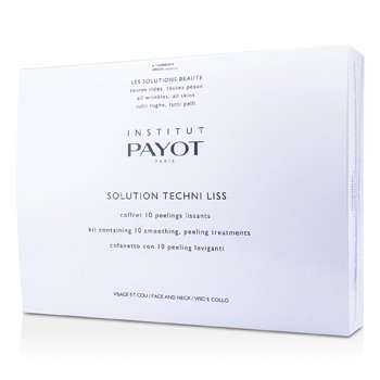 Payot Solution Techni Liss - Smoothing & Peeling Treatments For Face & Neck (Salon Product)