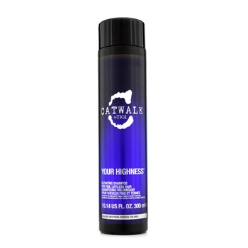Tigi Catwalk Your Highness Elevating Shampoo - For Fine, Lifeless Hair (New Packaging)