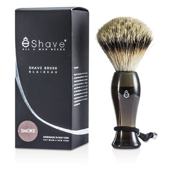EShave Finest Badger Long Shaving Brush - Smoke