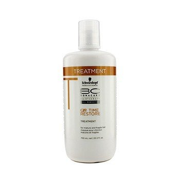 Schwarzkopf BC Time Restore Q10 Plus Treatment - For Mature and Fragile Hair (New Packaging)