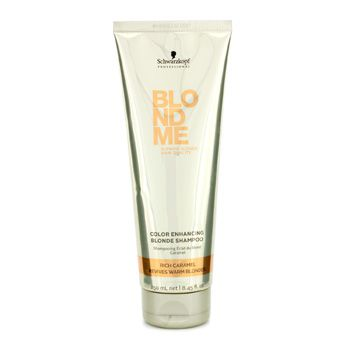 Schwarzkopf Blondme Color Enhancing Blonde Shampoo - Rich Caramel (Revives Warm Blondes)