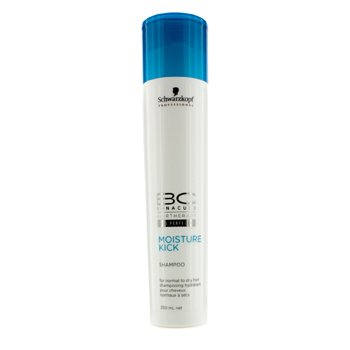 Schwarzkopf BC Moisture Kick Shampoo - For Normal to Dry Hair (New Packaging)