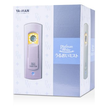 YA-MAN Platinum White Uruoi Mist With Mist Water - # Metallic Pink