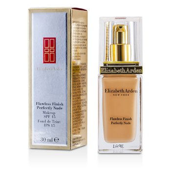 Elizabeth Arden Flawless Finish Perfectly Nude Makeup SPF 15 - # 12 Amber