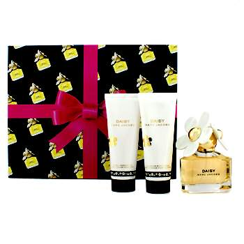 Marc Jacobs Daisy Coffret: Eau De Toilette Spray 50ml/1.7oz + Body Lotion 75ml/2.5oz + Shower Gel 75ml/2.5oz