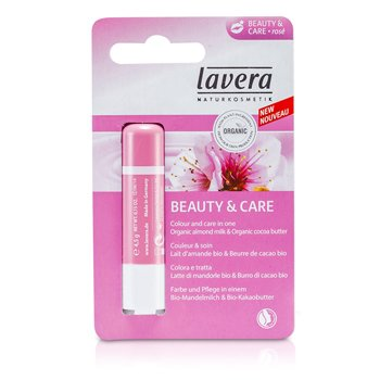 Lavera Lip Balm - Beauty & Care Rose