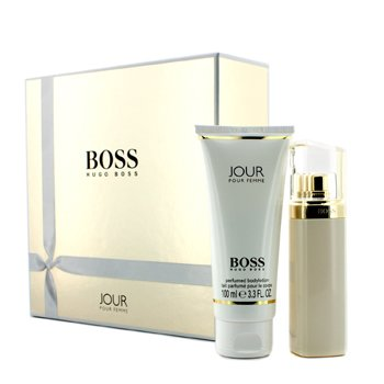 Hugo Boss Boss Jour Coffret: Eau De Parfum Spray 50ml/1.6oz + Body Lotion 100ml/3.3oz
