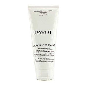 Payot Absolute Pure White Clarte Des Mains Lightening Protective Hand Cream (Salon Size)