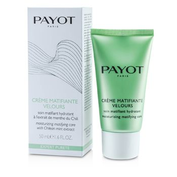 Payot Expert Purete Creme Matifiante Velours - Moisturizing Matifying Care (For Combinaion to Oily Skin)