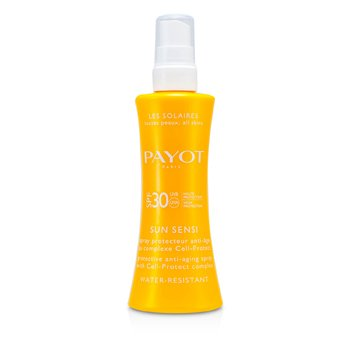 Payot Les Solaires Sun Sensi - Protective Anti-Aging Spray For Body (Water Resistant)