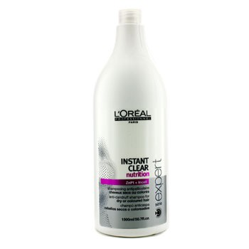 L'Oreal Professionnel Expert Serie - Instant Clear Nutritive Anti-Dandruff Shampoo (For Dry or Coloured Hair)