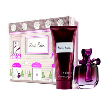 Nina Ricci Ricci Ricci Coffret: Eau De Parfum Spray 80ml/2.7oz + Body Lotion 200ml/6.8oz