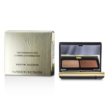 Kevyn Aucoin The Eye Shadow Duo - # 215 Cool Tan/ Ruddy Earth