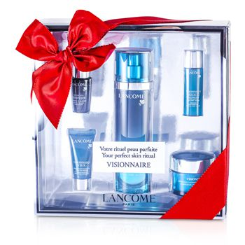 Lancome Visionnaire (Your Perfect Skin Ritual) Set: Skin Corrector 50ml & 15ml + Multi-Correcting Cream 15ml + Concentrate 7ml + Eye Corrector 5ml