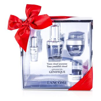 Lancome Advanced Genifique (Your Youthful Ritual) Set: Concentrate 30ml + Cream 15ml + Yeux Light-Pearl 5ml + Eye Cream 5ml