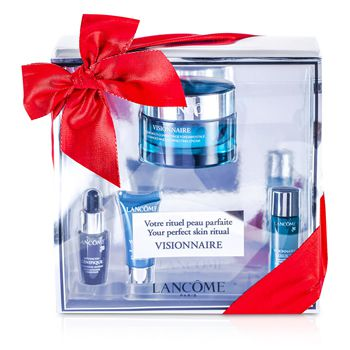 Lancome Visionnaire (Your Perfect Skin Ritual) Set: Advanced Cream 50ml + Skin Corrector 7ml + Concentrate 7ml + Eye Contour 5ml